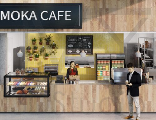Amoka Cafe – Building Permit