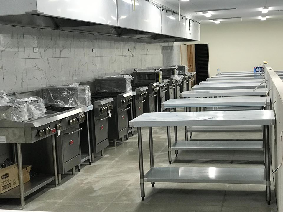 ADMS training kitchen